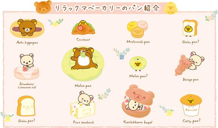 Rilakkuma San-X papeterie japonaise kawaii pâtisserie