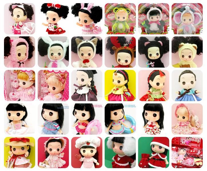 ddung dolls poupées coréennes
