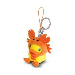 Porte-clés canard crabe