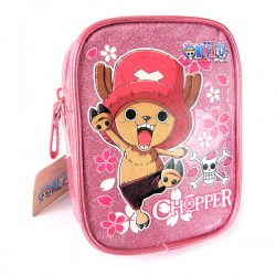 Pochette Rose pailletée - Tony Chopper, One piece
