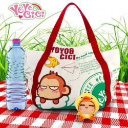 Grand sac en toile - Yoyo Cici